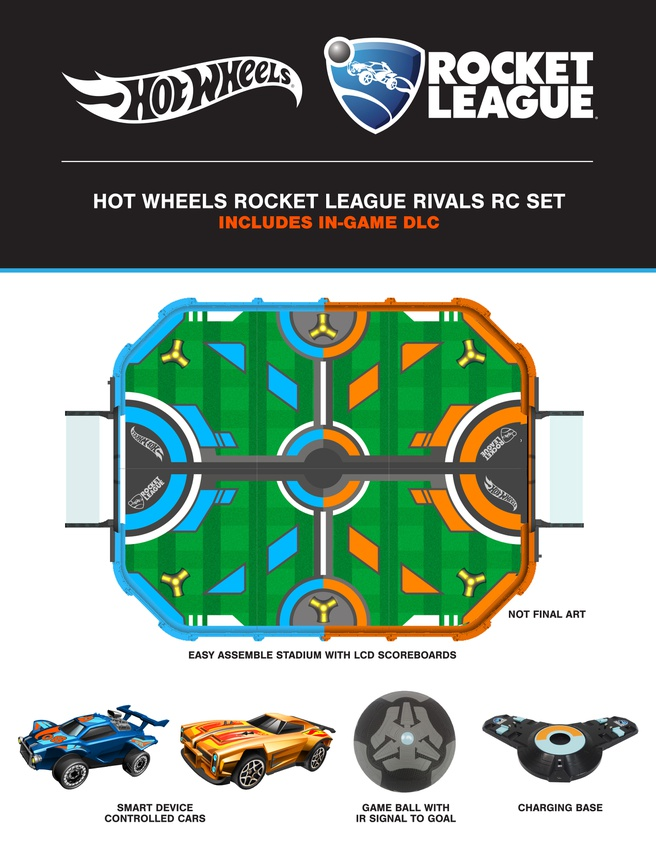 Hot Wheels Rocket League-set