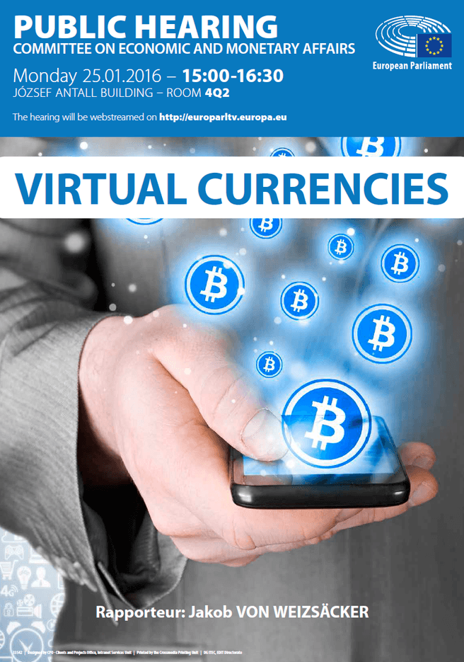 Virtual Currencies Public Hearing EU EC