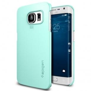Spigen Thin Fit Samsung Galaxy S6 edge Case - SGP11411 - Mint