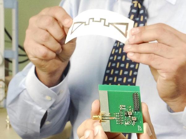 Antenne voor energieopwekking uit em-straling