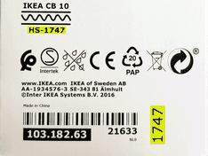 Ikea Tradfri productiecode 980 lumen variabele kleurtemperatuur