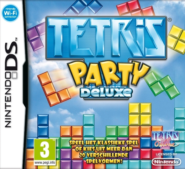 Packshot voor Tetris Party Deluxe