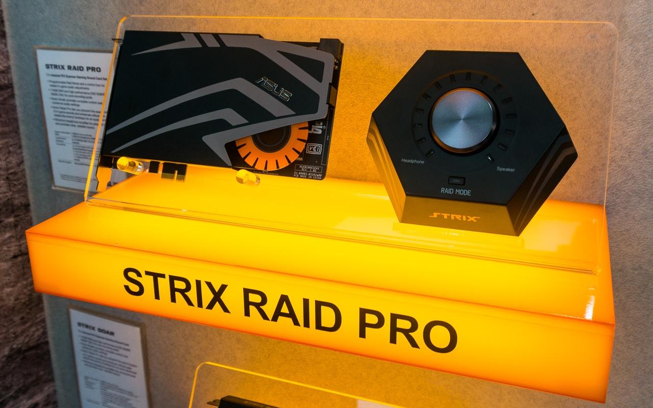 Asus Strix geluidskaarten