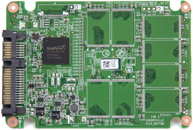 Intel 330 pcb achterkant