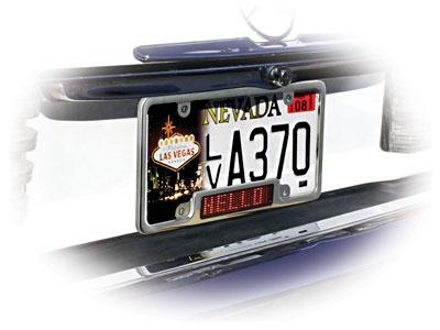 LED License plate