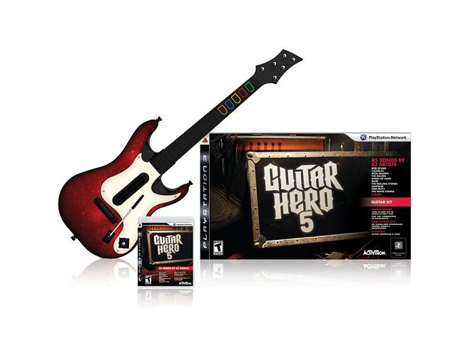 Guitar Hero 5, PlayStation 3