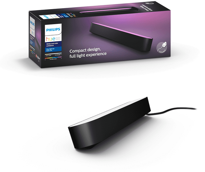 Philips Hue Play lichtbalk (Zwart)