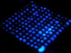 Luminol reageert op hemoglobine