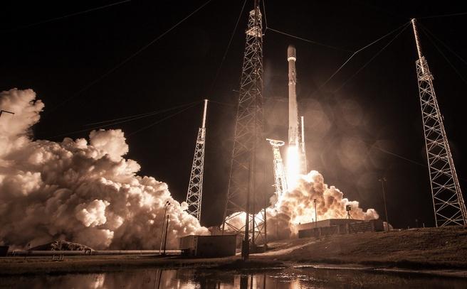 SpaceX Zuma lancering