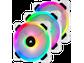 Goedkoopste Corsair LL120 RGB LED White (Triple Pack), 120mm