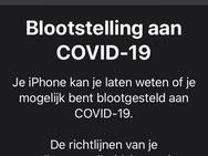Blootstellingsmeldingen in iOS 13.7 beta