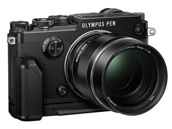 Olympus Pen-F zwart