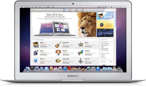 Apple Mac OS X Lion App Store