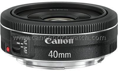 Canon 40mm f2 pancake objectief
