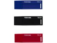 Goedkoopste Toshiba TransMemory U302 (3-pack) 16GB Rood