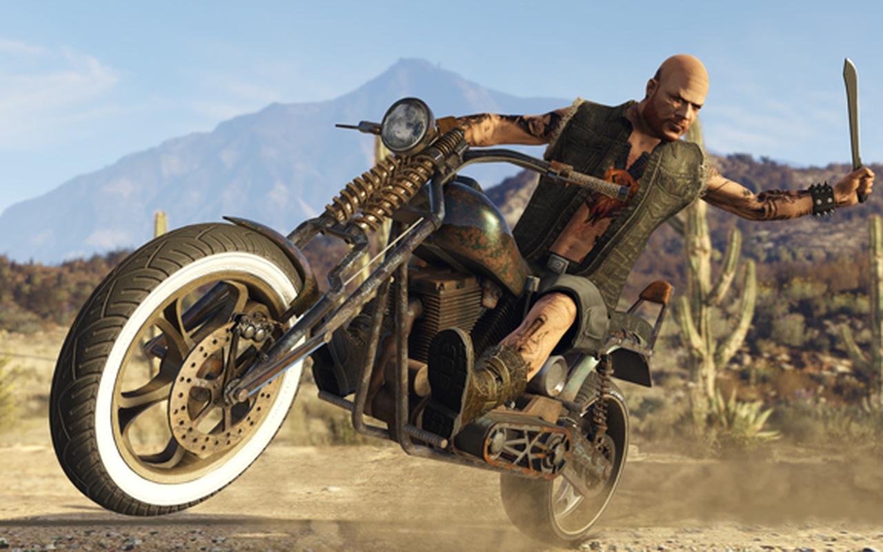 GTA Online Bikers-dlc