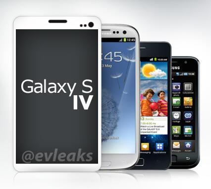 Galaxy S 4 volgens evleaks