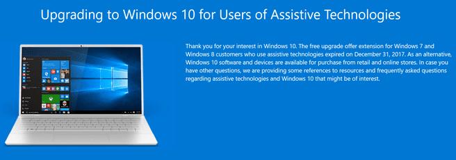Windows 10 Assistive