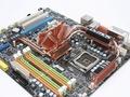 MSI P45 Platinum schuin