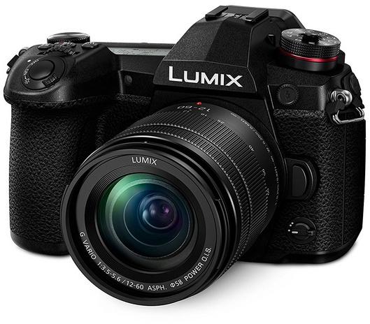 Panasonic Lumix G DC-G9 + 12-60mm f/3.5-5.6 Zwart