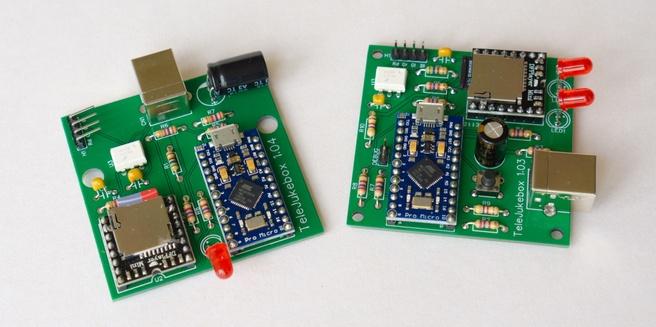 .Build Wonderfoon - Beide varianten van de TeleJukebox