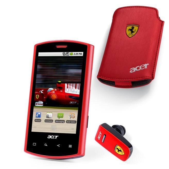 Acer Liquid S100 Ferrari  Zwart
