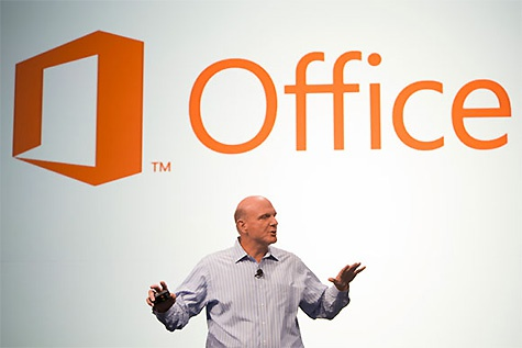 Office-logo met Ballmer
