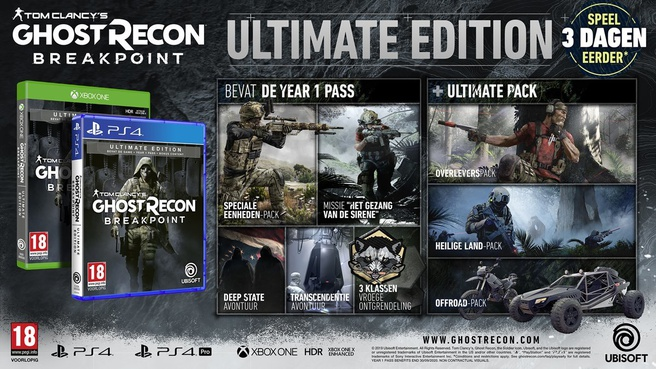 Tom Clancy's Ghost Recon Breakpoint (Ultimate Edition)