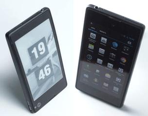 Yota-smartphone met twee schermen