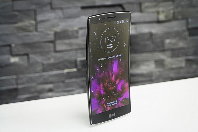 LG Flex 2 met krom scherm