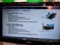Cebit 2010: Adaptec-stand, Q-lijn sas raid-adapters