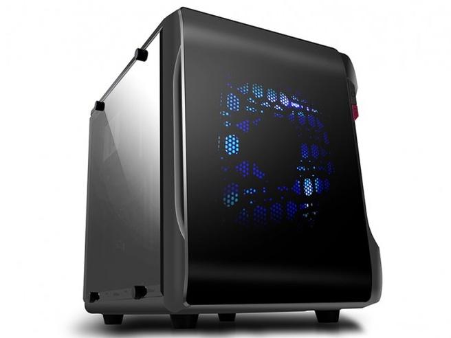 Spire introduceert powercube micro atx behuizing computer
