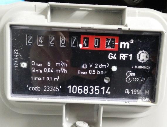 gasmeter