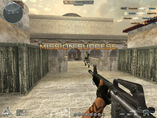 Screenshot CrossFire Game
