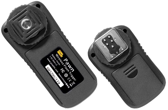 Pixel TF-361 Pawn wireless flash trigger set voor Canon