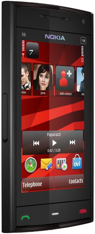 Nokia X6 16GB Zwart