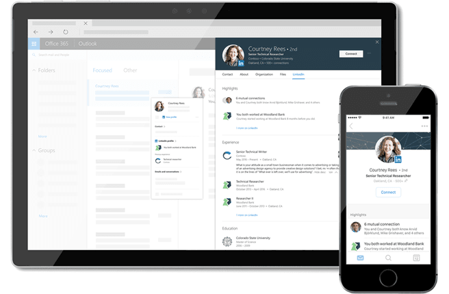 Microsoft LinkedIn Office