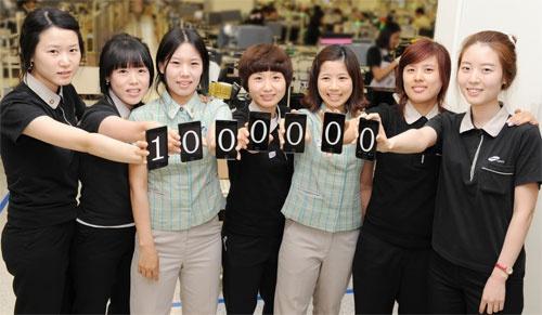 Samsung Galaxy S II 1 miljoen