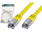 Goedkoopste Digitus Patch Cable, SFTP, CAT5E, 0.5M Geel