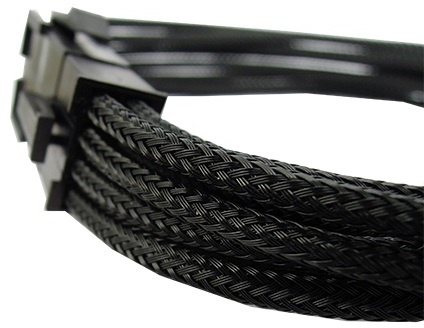 Gelid Solutions 6+2 Pin Extension Cable - Black 30cm