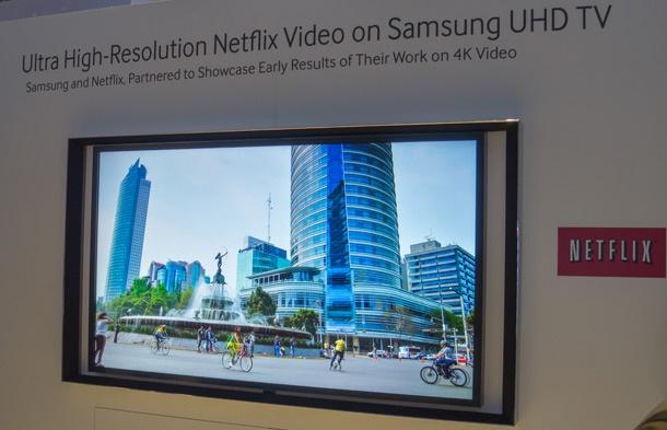 Samsung S9 Netflix 4k stream 65inch