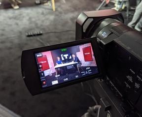 Reinoud en Koen filmen de eerste aflevering over de RTX3080