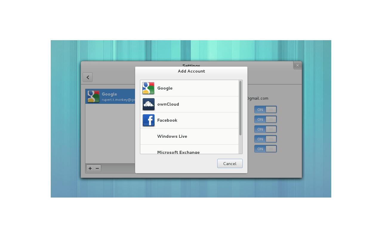 Gnome 3.8