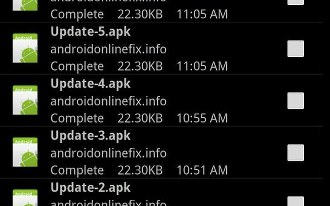 Android NoCompatible-malware die een drive-by-download poogt