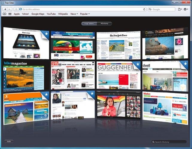 Safari 5 voor Windows