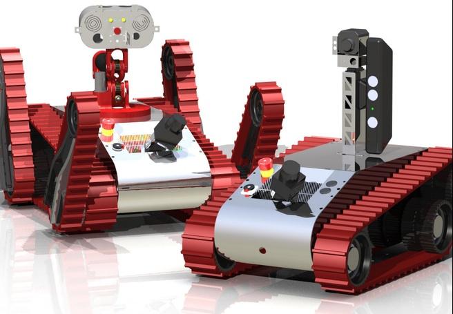 Warwick Mobile Robotics-robot met Kinect