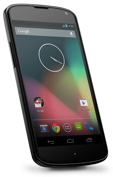 Google Nexus 4 16GB Zwart