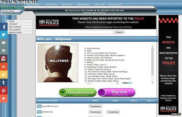 piraterijwaarschuwing politie Londen