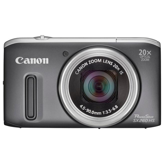 Canon Powershot SX260 HS Zwart