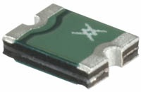 A PTC resettable fuse, you may recognize this as the little green devices near your motherboard USB ports